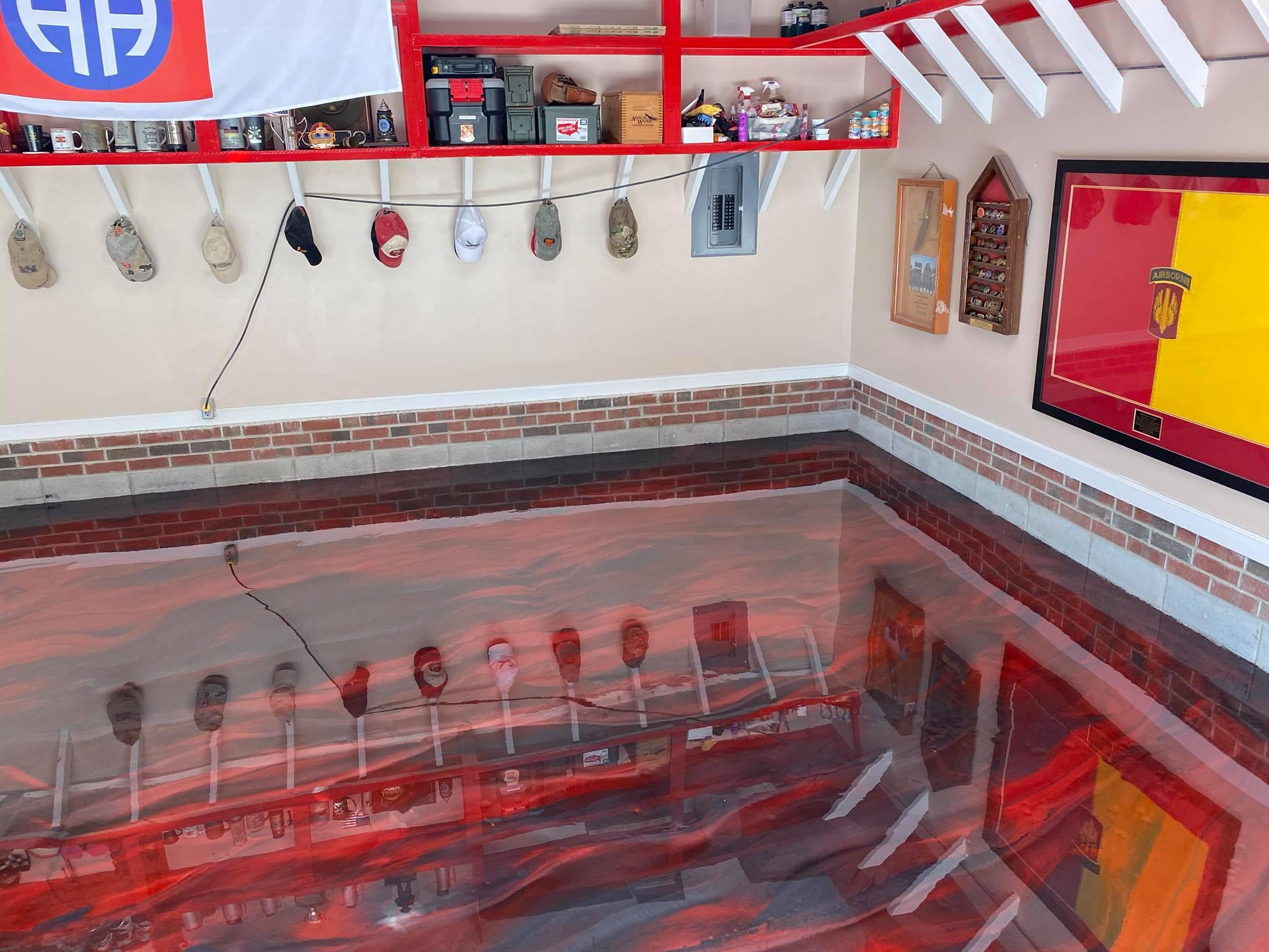 garage floor fayettevillw